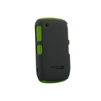 BlackBerry Curve 3G 9330 Naztech Vertex 3-Layer Skal - Grön