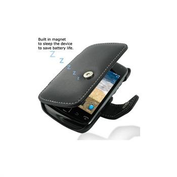 BlackBerry Curve 9380 PDair Läderfodral - Svart