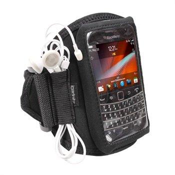 BlackBerry Bold Touch 9900, 9930 iGadgitz Neoprene Armband - Svart