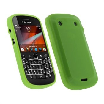 BlackBerry Bold Touch 9900, 9930 iGadgitz TPU Skal - Grön