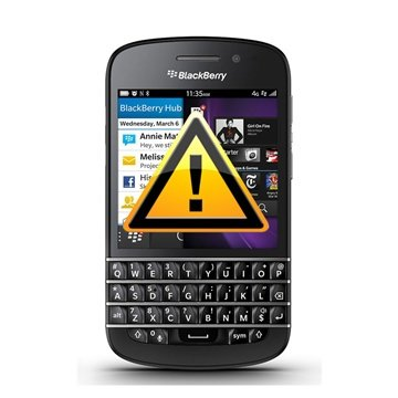 BlackBerry Q10 Högtalare Reparation