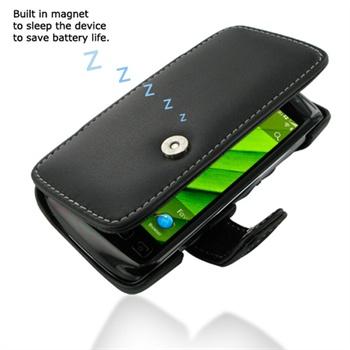 BlackBerry Torch 9850 PDair Läderfodral - Svart