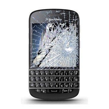 Blackberry Q10 LCD-display %26 Pekskärm Reparation