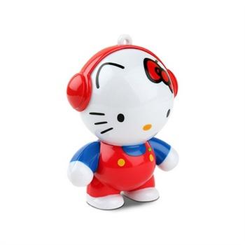Mobi Headphonies Hi-Fi Amplified MP3 Högtalare - Hello Kitty