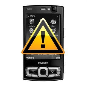 Nokia N95 8GB Ljudkontakt Reparation