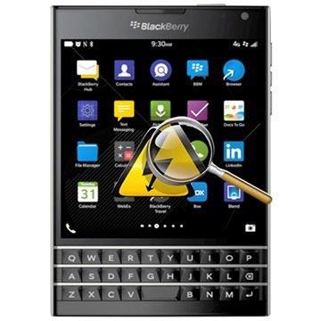 BlackBerry Passport Diagnos