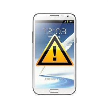 Samsung Galaxy Note 2 N7100 SIM-kort och Minneskortläsare Reparation