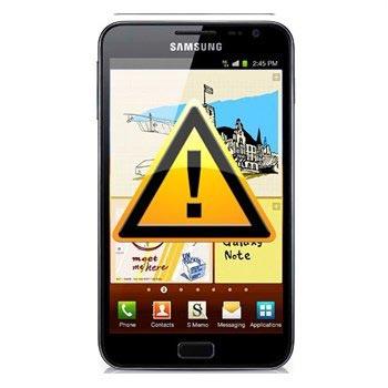 Samsung Galaxy Note N7000 Fram Kamera Reparation
