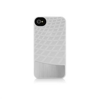 iPhone 4 / 4S Belkin - Meta Snap-On-Cover - Vit