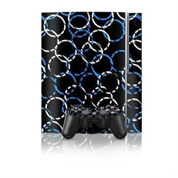 Sony PlayStation 3 Skin - Blue Loops