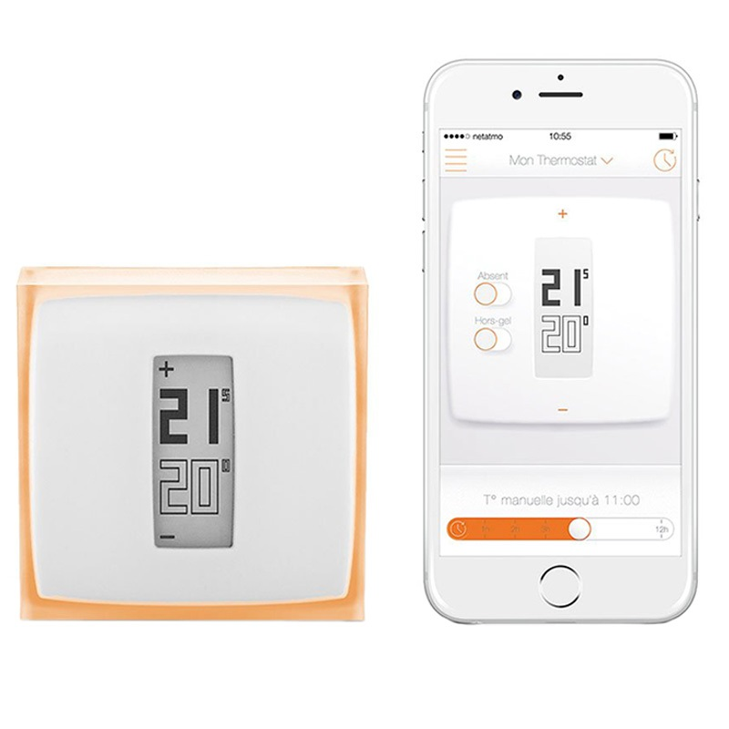 netatmo smart termostat v2 spara pengar handla online. Black Bedroom Furniture Sets. Home Design Ideas